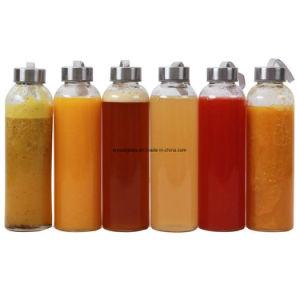 Freie leere Glasflasche für Saft-Verpackung