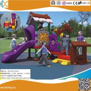高品質の幼児のための屋外のプラスチック遊園地装置