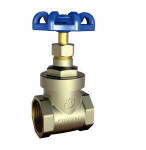 S5104 Ce Válvula de compuerta de agua de cola de latón