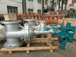 API600/DIN/JIS Wcb는 운영한 칼 게이트 밸브 전동기 게이트 밸브 Bw 압축 공기를 넣은 벨브 기어에 의하여 플랜지를 붙였다