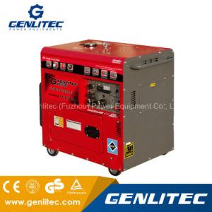 Компрессоры с воздушным охлаждением 4.8kw 5.0kw портативный Silent дизельного генератора с 25L большой топливный бак