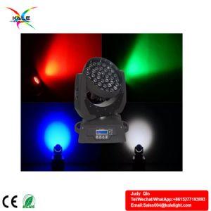 La luz de la etapa 36pcs 10W RGBW haz de luz LED moviendo la cabeza