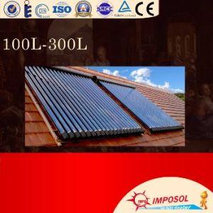 tubo de calor aquecedor solar de água divisão aço galvanizado