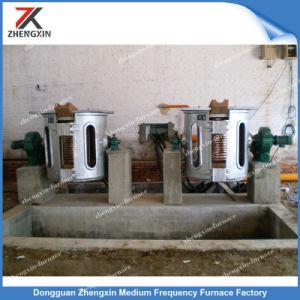 Venda a quente do forno de fusão por indução eléctrica para ferro/aço (GW-1T)