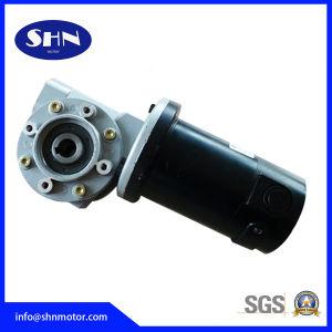 Bajo nivel de ruido eléctrico cepillo DC Motor de engranaje helicoidal (62ABW Series)