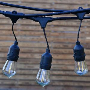 Wasserdichte im Freienfestival-Dekoration-Kugel-Zeichenkette-Lichter mit LED-Birnen