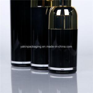 50ml, 30ml, bottiglia acrilica della bottiglia senz'aria di plastica cosmetica di lusso di 15ml OEM/ODM per cura di pelle