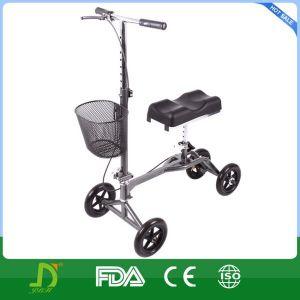 FDA, Cer genehmigter steuerbarer medizinischer Knie-Wanderer-gehender Hilfsmittel-Roller Rollator Support