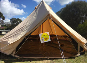 Heavy Duty Camping en toile de plein air Tente Tipi adultes