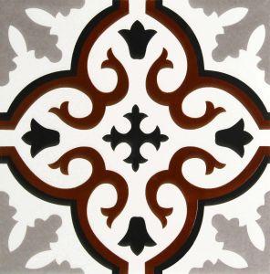 Het Verglaasde Bruine Porselein Tile20*20cm van Borhemia Stijl