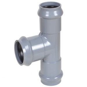 Raccords de tuyaux en PVC avec joint en caoutchouc