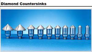 Diamond avellanadores de perforación de vidrio