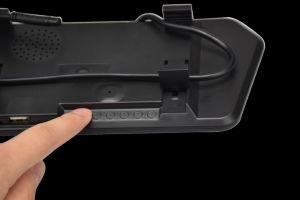 Вид Сзади Монитор Зеркала Автомобиля 7-дюймовый Универсальный