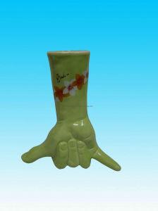 Vaso de flores de cerâmica (KNS7059)