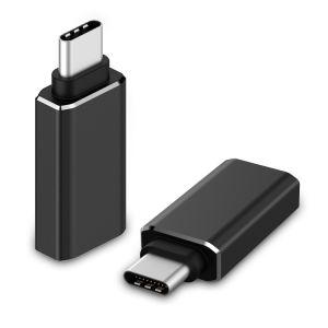 De zwarte USB 3.0 Adapter van het Type C met Aluminium Shell voor de Tablet van Nokia N1
