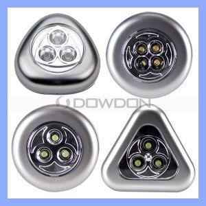 Mini-LED Lights, Batterie-angeschalten mit Round Shape Portable LED Touch Light (LE-014)