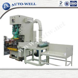 Contenedor de papel de aluminio Punzonadora / Línea de producción