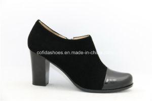 La moda elegante confort Dama Zapatos de Tacón zapatos de cuero