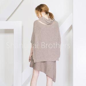 女性方法カシミヤ織のセーター16braw317