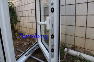 Finestra di vetro di alluminio personalizzata della finestra della stoffa per tendine per edificio commerciale e residenziale