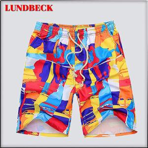 Shorts della spiaggia degli uomini caldi di vendita con il disegno di modo