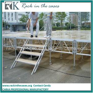 Fase portatile di alluminio del Plexiglass di prezzi di fabbrica di Rk per l'evento esterno