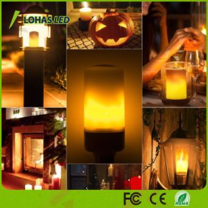 O projeto mais recente instantes chama Emulational lâmpada LED piscando Leal chama a lâmpada da luz de LED com 3 modos para o Natal
