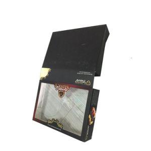 عالة رفاهيّة ورق مقوّى عيد ميلاد عرس [كك بوإكس] مع [بفك] نافذة