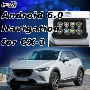 Plug&Play Android 6.0 GPS навигатор для Mazda CX-3 с WiFi Mirrorlink Youtube Google Play и т.д.
