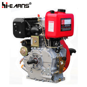 12HPディーゼル機関の電気開始の赤いカラー(HR188FAE)