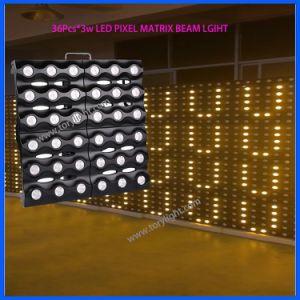 LEDの金のアレイビームピクセルマトリックス36*3W DJはつく