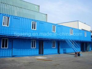 Conteneur de deux étages maison bâtiments modulaires conteneur