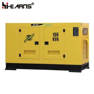 gruppo elettrogeno diesel raffreddato ad acqua silenzioso 150kVA (GF2-150kVA)