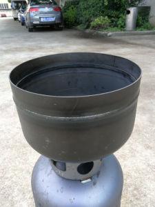 Bombona de gas de la circunferencia automática Máquina de soldadura