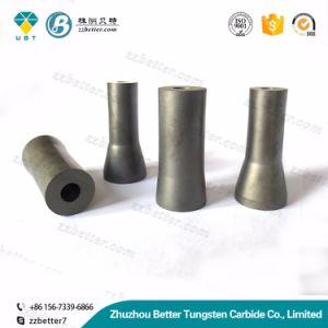 Tipos diferentes dos bocais feitos do carboneto do boro, do carboneto de silicone e do carboneto de tungstênio