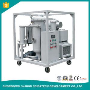 Marca Lushun 6000 litros/h multifunción purificador de aceite lubricante de alto vacío.