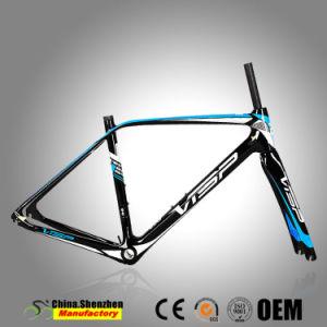 Tube de la tête conique Design chinois 42*52mm en carbone Cadre de bicyclette de route