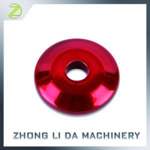 L'aluminium anodisation différentes couleurs de la rondelle plate