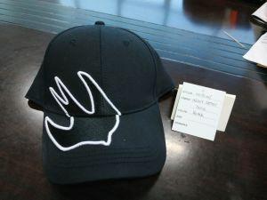 Novo logotipo Jercey desportivas basebol de algodão descaroçado Hat com 3D bordados e impressão de borracha da tampa de Sublimação Hat Golf Hat