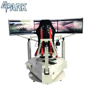 3 de Machines van het Spel van de Simulator van de Raceauto van het scherm