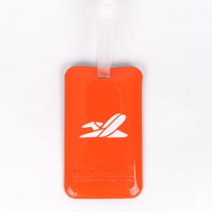 Material de PVC y el nombre de producto de la etiqueta de equipaje Etiqueta de Equipaje