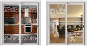 Perfil de aluminio para puertas y ventanas