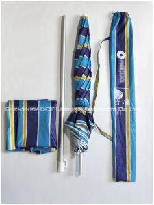 Ombrello di alluminio di pesca della spiaggia di qualità con protezione UV (OCT-AUNUVS01)