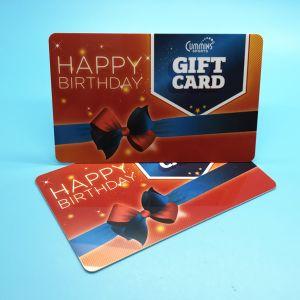 L'impression professionnel personnalisé en plastique de la Carte Cadeau de fidélité à bande magnétique