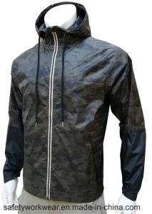 Moda Casual impermeável jaqueta impressas com alta qualidade
