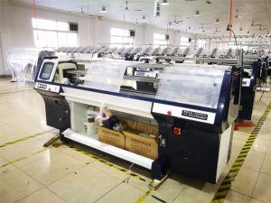 Volledig automatiseerde de Sweater van de Manier de Vlakke Breiende Machine van de Jacquard met 3G-16g