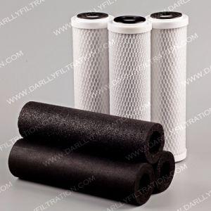 Cartouche de filtre à eau au charbon activé pour le traitement de l'eau