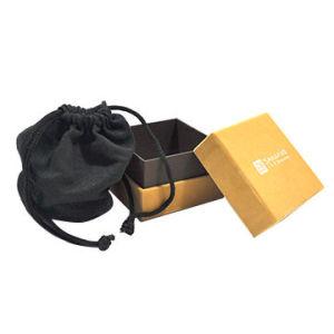 Boîte à bijoux personnalisé un emballage cadeau avec housse de sac de bijoux BIJOUX