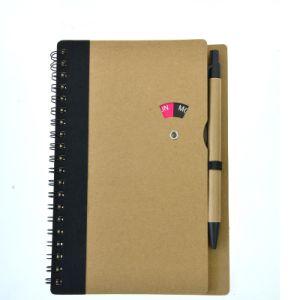 Escritório Data Personalizado assinar o notebook com caneta