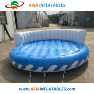 Tubi pazzeschi gonfiabili del pattino del sofà del UFO di sport della spiaggia trainabili